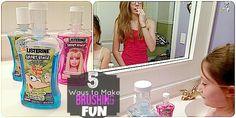 5 ways to make brushing fun #spon