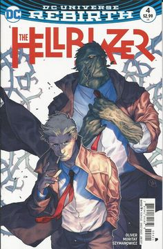 DC The Hellblazer Rebirth comic issue 4 Limited variant