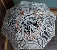 FREE PATTERN!! Sweet Nothings Crochet: STUNNINGLY SUPERB UMBRELLA