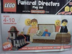 As a Lego enthusiast and Funeral Director, doesn't get any better than this.