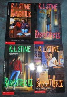 FOUR THE BABYSITTER  BOOKS by R.L. Stine Good