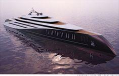 extravagant new mega yacht