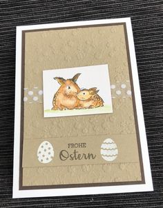 Aquarellstifte, Ostern Stampin Up, Frame, Home Decor, Happy Easter, Creative, Patterns, Gifts, Picture Frame, Decoration Home