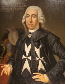Emmanuel de Rohan-Polduc 1725-1797 ~ 70th Prince and Grand Master of the Order of Malta from 1775 to 1797