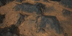 ArtStation - Substance_Designer - 100% procedural Martian Soil, Robert Wilinski