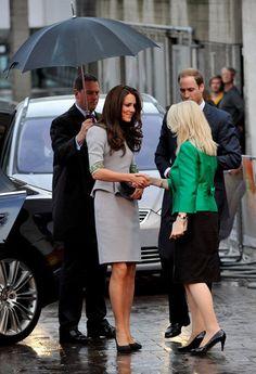 Kate Middleton in #peplum