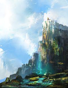 Concept Art Cliff