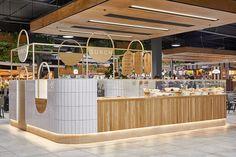 Bakery Interior, Cafe Interior Design, Retail Interior, Cafe Design, Interior Architecture, Kiosk Design, Booth Design, Retail Design, Banner Design