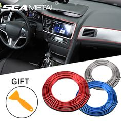4800+Orders:Price$4.93 5M Car Interior Mouldings Trims Decoration Line Strips Car-styling Door Dashboard Air Outlet Decorative Sticker Auto Accessories #carinteriorsideas #carinteriorscleaning #caraccessories #caraccessoriesinteriors#CarBumperClips #CarFastenerRivetDoor #carFenderLiner#InteriorMouldings #OutletDecorativeSticker #TrimsDecorationLineStrips