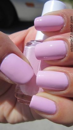 love this milky pink color. [essie: french affair]