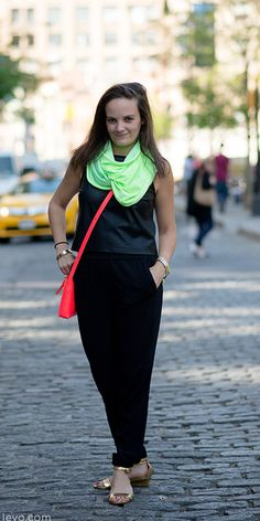 Levo's Editor-at-Large, Meredith Lepore, shares her #mypoweroutfit (and sass!) #MyPowerOutfit www.levo.com