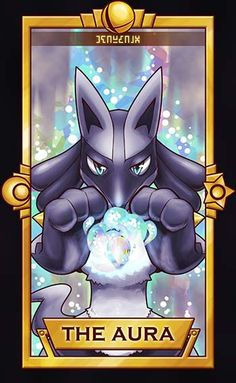 Lucario - The Aura by Quas-quas on DeviantArt