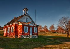 Fissel's one room schoolhouse built in 1896, in York County, PA. It served the community of Glen Rock, PA and the Pennsylvania and Maryland border.  On October 24, 1997, the school was placed on the National Register of Historical Places.  Photo credit:  Gregg Obst's.