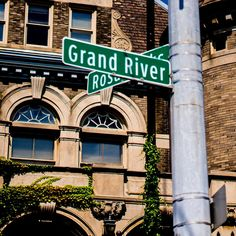 This street was 12th street, and Grand River before it was renamed Rosa Parks Blvd.