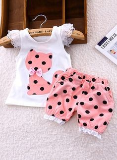 Polka Dot Baby Dress Cat Patch Work - Baby Clothes Best Picture For baby girl fashion frock For Your Cat Dresses, Little Girl Dresses, Girls Summer Outfits, Kids Outfits, Baby Outfits, Summer Girls, Family Outfits, Winter Outfits, Baby Girl Fashion