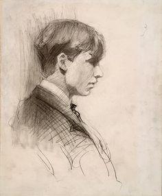 Edward Hopper, self-portrait