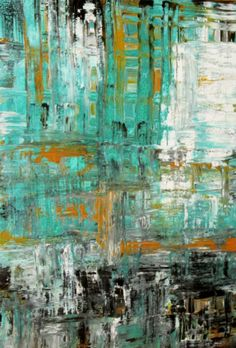 Acrylic Abstract by Jill Marie Greenhill