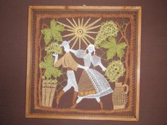 Bobbin Lace, Tenerife, Silhouettes, Rugs, Frame, The Originals, Art Paintings, Characters, Projects