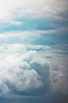 Fly :)---> Might be scary sometimes but it is so worth it, I love the way clouds look like cotton cake :)