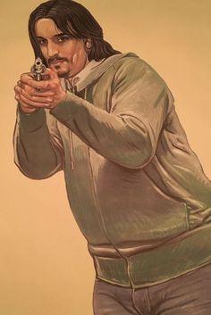 'Malik' William Tai - 8x Doelwit-poster van de politie - 2004-2015 - W.B.