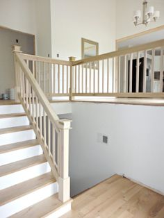 Our 1970's House Makeover: Part 6. The Stairs and Entryway Makeover.