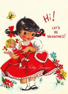Valentine Vintage Image