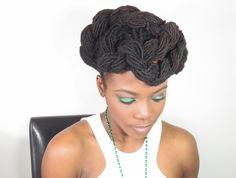 St. Patricks Day Lock Hairstyle Tutorial/Jungle Barbie
