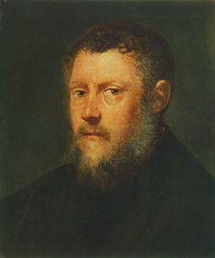 Portrait of a Man (fragment) : TINTORETTO : Art Images : Imagiva