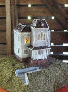Bates motel Psycho house grooms cake by cbdesserts, via Flickr