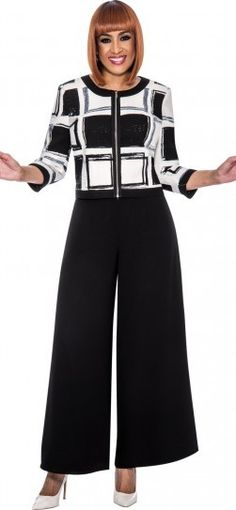 Dorinda Clark Cole, Style DCC162, Black-White