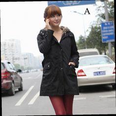 51.06$  Buy here - http://ali0g3.worldwells.pw/go.php?t=32761088856 - 2017 New women winter jackets cotton turn-down collar hoodies fashion coats plus velvet warm Korean version casual women jackets 51.06$