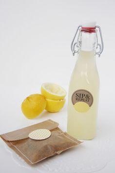 Picnic food: lemonade & granola