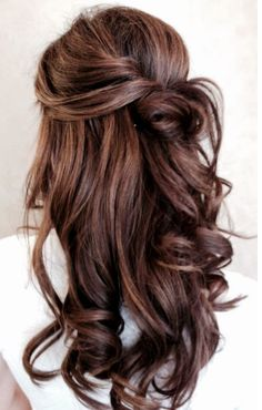 Long hairstyle.