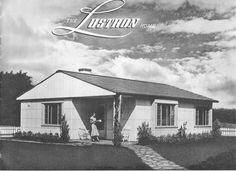 What Lustron do you have?  Floor plans for Lustron homes.