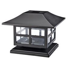 NOMA Nautical Solar Post Light features a nautical style to light up your yard Deck Post Lights, Solar Post Lights, Solar Deck Lights, Fence Lighting, Backyard Lighting, Outdoor Lighting, Lighting Ideas, Deck Posts, Canadian Tire