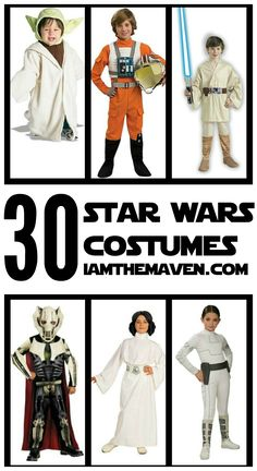 Tell your friends!0000000 Episode 7, The Force Awakens arrives in theaters on December 18th. Chances are you going to see a lot of people in Star Wars costumes at Halloween this year and you won't want to miss out. Whether the Star Wars costume you're looking for is Padme, Darth Maul or Yoda, chances are …