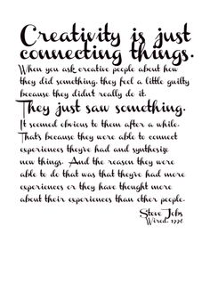 Steve Jobs 1955-2011  On Creativity, Wired, 1996