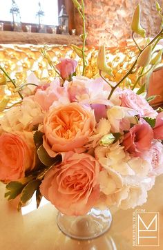 Romantic Pink and Gold Wedding by Mode Function Event Design Ltd.    Web: www.modefunction.com    Twitter: www.twitter.com/ModeFunction  Facebook: www.facebook.com/ModeFunctionEventDesign