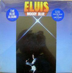 ELVIS PRESLEY moody blue RCA  1977 w/stickers  by PremiumVintage4U