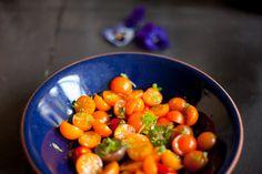 Sungold Tomato Salad by Gluten-free Gourmand