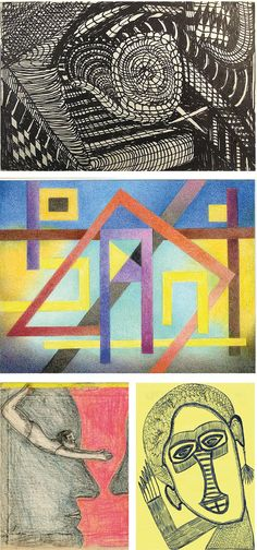 If you do like Outsider Art, you may have a look at www.outsider-art-brut.ch (www.aussenseiterkunst.ch for german), a gallery page that presents a big variety of works by more than seventy recognized and yet unknown outsider artists, among which are, for example, these drawings by Madge Gill, Sisi Bolliger, Alain Signori and Ernst Kolb.