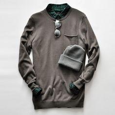 globe-olive_sweater