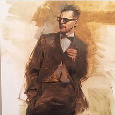 #art #painting #artist #painter #michaelcarson @mcarson1999 #man #figure #portrait #contemporaryart #modernart #fineart #georgesbergesgallery #soho #nyc