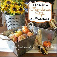 CONFESSIONS OF A PLATE ADDICT Finding Farmhouse Style at Walmart and other stores - under $15