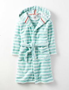 Mini Boden Cosy Dressing Gown Pastel Turquoise Stripe Girls Stay warm while you sip your morning cuppa with our snuggly gown. Its lined with supersoft faux shearling and weve added extra fabric at the sides so theres more to wrap around you. And thats not all  http://www.MightGet.com/january-2017-13/mini-boden-cosy-dressing-gown-pastel-turquoise-stripe-girls.asp