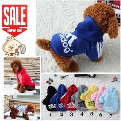 2017 New Fashion Pet Product Dog Cat Clothes Hoodies Coat with Hat 6 Color  XS-XXL Summer Spring Winter Cotton Dress China // FREE Shipping //     Get it here ---> https://thepetscastle.com/2017-new-fashion-pet-product-dog-cat-clothes-hoodies-coat-with-hat-6-color-xs-xxl-summer-spring-winter-cotton-dress-china/    #dog #dog #puppy #pet #pets #dogsitting #ilovemydog #lovedogs #lovepuppies #hound #adorable #doglover