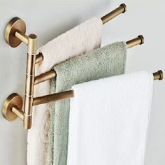 Aliexpress.com : Buy European copper gold towel rack Toilet towel ...