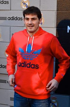 Iker Casillas - Adidas Store Re-Opening at Santiago Bernabeu Stadium