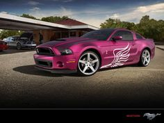 Pink Mustang - Mustang Cobra I have a car like this….in need for speed lol