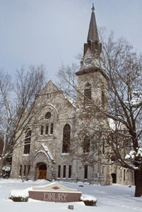 Drury University Chapel, Springfield MO